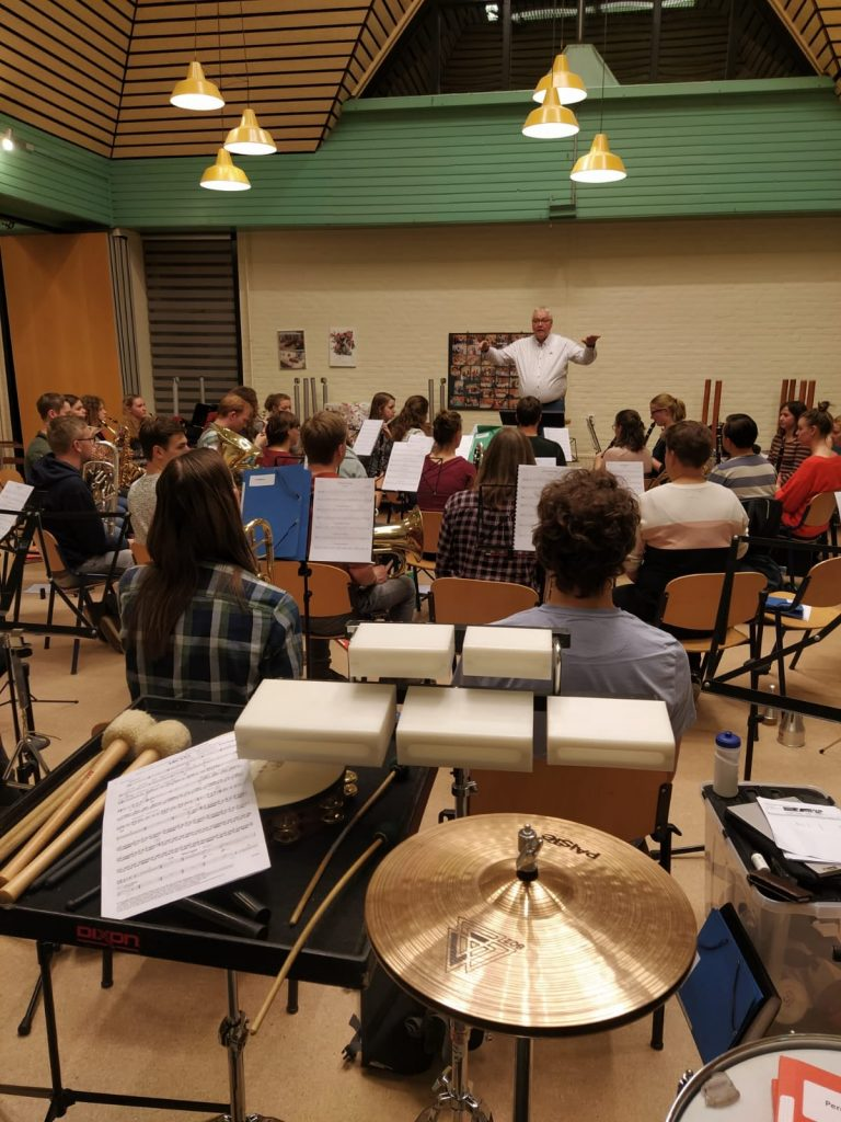 Workshop van gastdirigent Jilt Jansma
